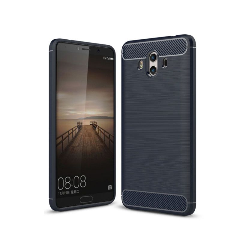 Carbon Fiber Drawing Package All Mobile Phone Protection Case for Huawei Mate10