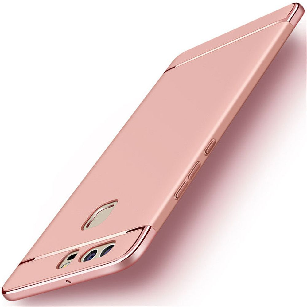 Luxury Hybrid 3 in 1 Plating PC Hard Back Cover for Huawei P10 Plus