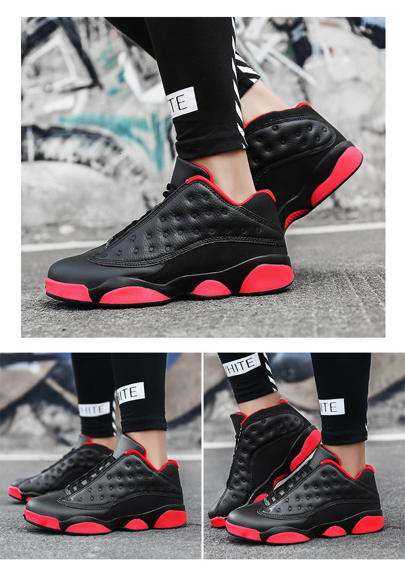Autumn and Winter High Fashion Wear Resistant Men'S Basketball Shoes