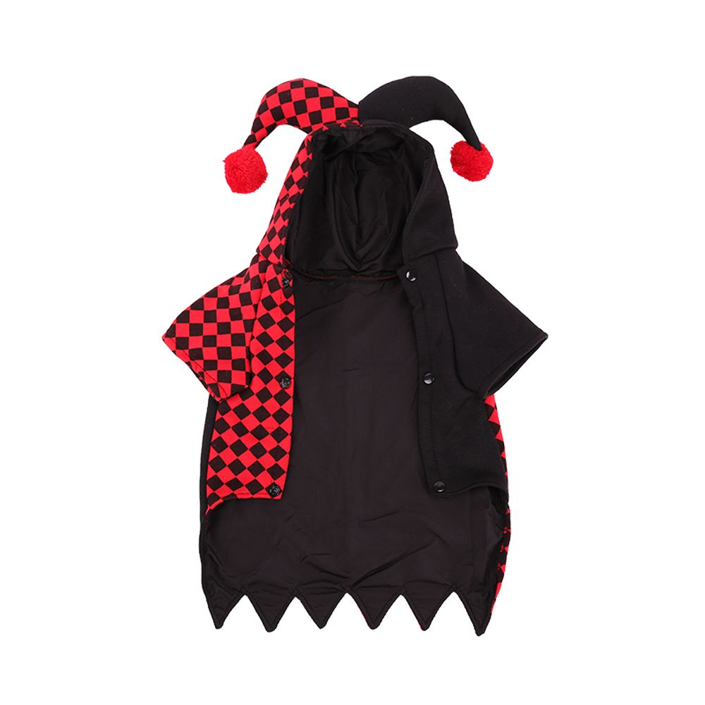 Lovoyager A77 Halloween Dogs Clothes Decorated with Horns