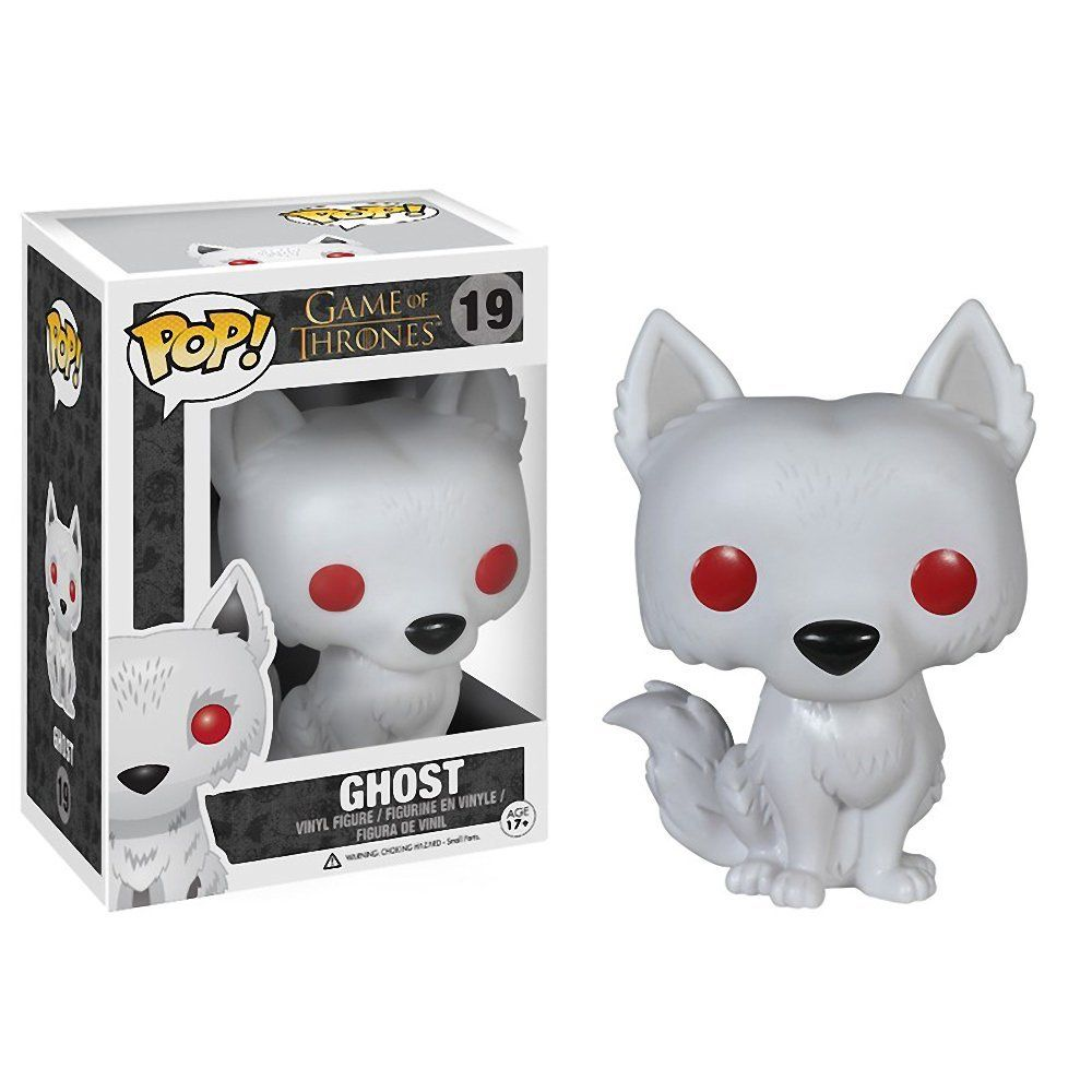 Ghost Style Vinyl Figure Toy