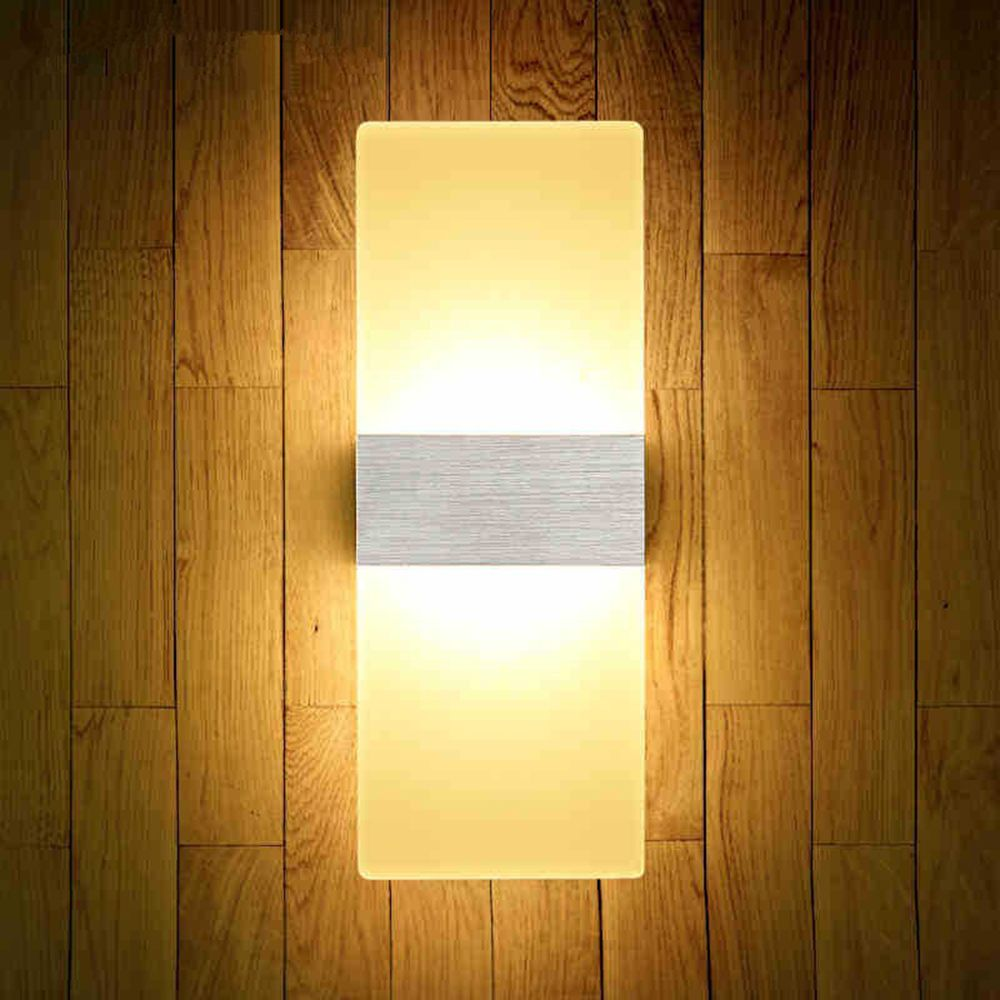 LED Fashion Creative Wall Light 6W Living Room Corridor Acrylic Lamps AC 85 - 265V
