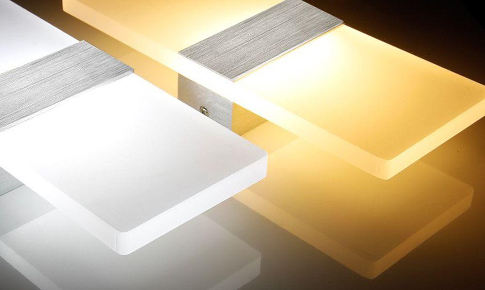 LED Fashion Creative Wall Light 6W Living Room Corridor Acrylic Lamps AC 85 - 265V