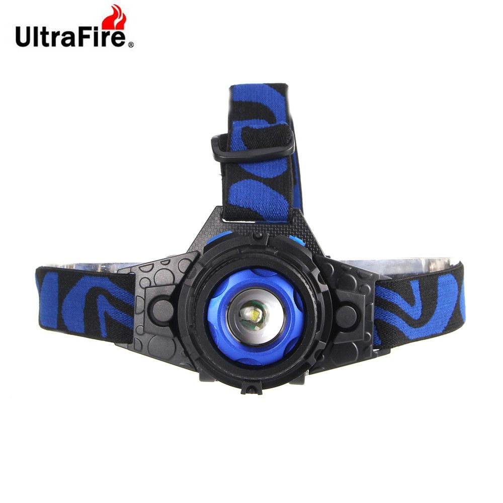 UltraFire XM-T6 500LM 3-Position Light Focusing Headlamps