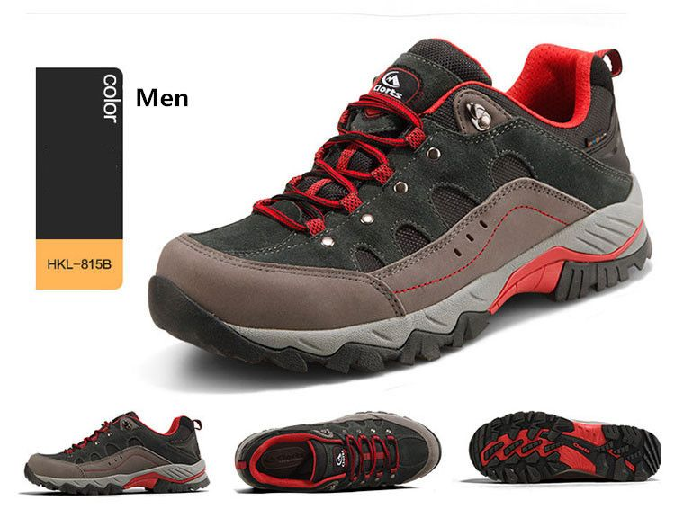 Hiking Sneakers Low-cut Sport Shoes Breathable Athletic Outdoor Shoes for Men