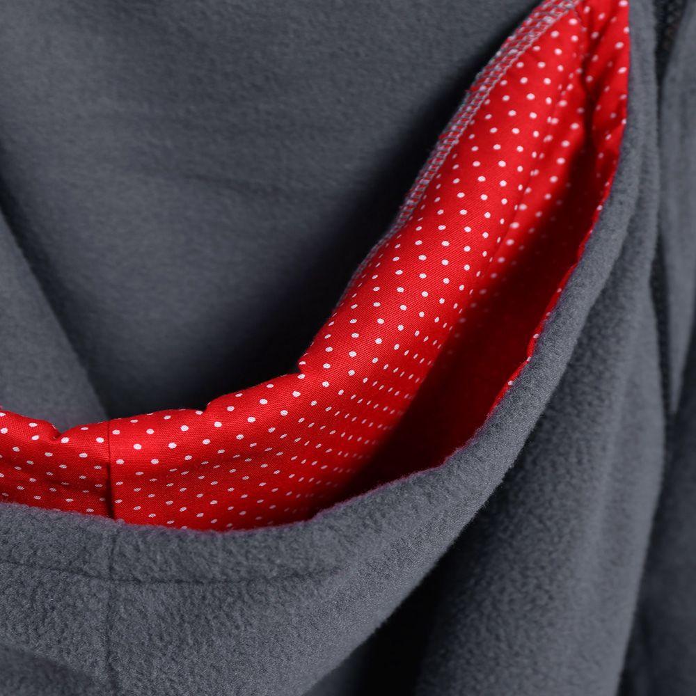 Womens Maternity Kangaroo Hooded Sweatshirt for Baby Carriers Coats