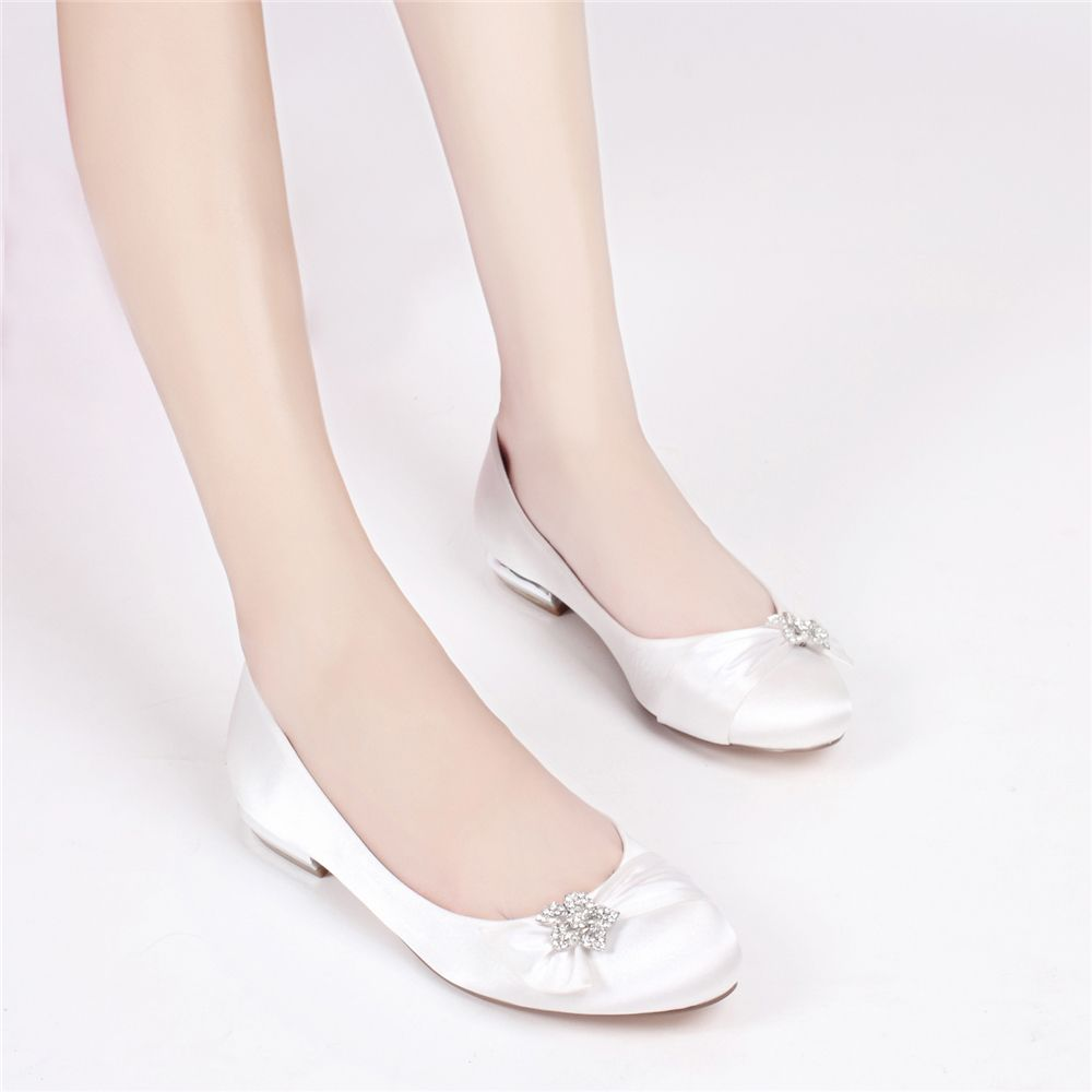 5049-4Women's Wedding Shoes Comfort Ballerina Spring