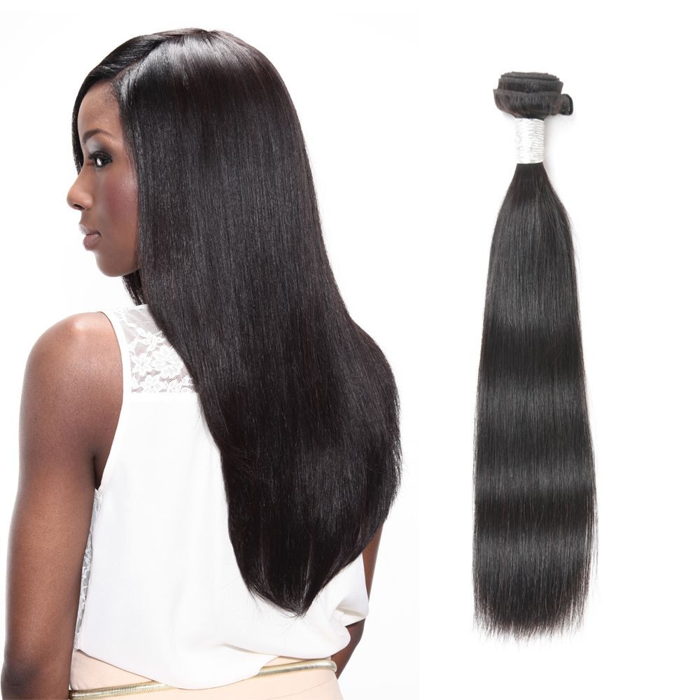 Rebecca Fashion Brazilian Remy Human Hair Straight Weaves R5 1pc/lot 100g RC09177