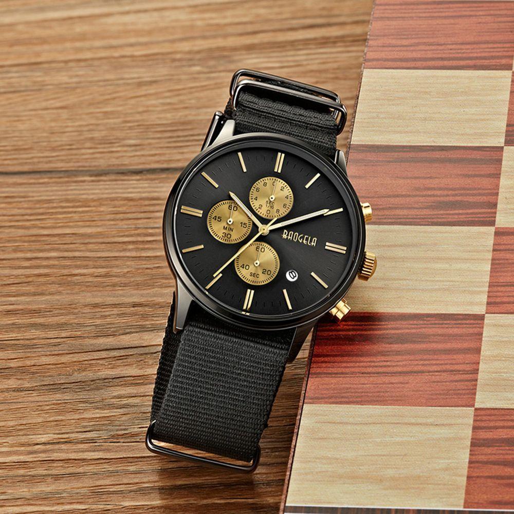 BAOGELA 1611 Man Casual Waterproof  Multifunctional Watch