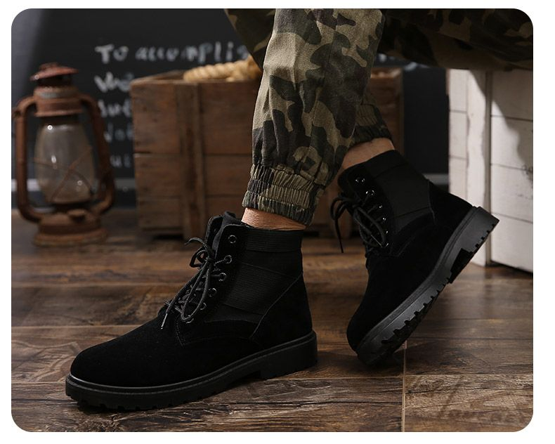 Fashion and Leisure Sports Trendy High Men's Boots