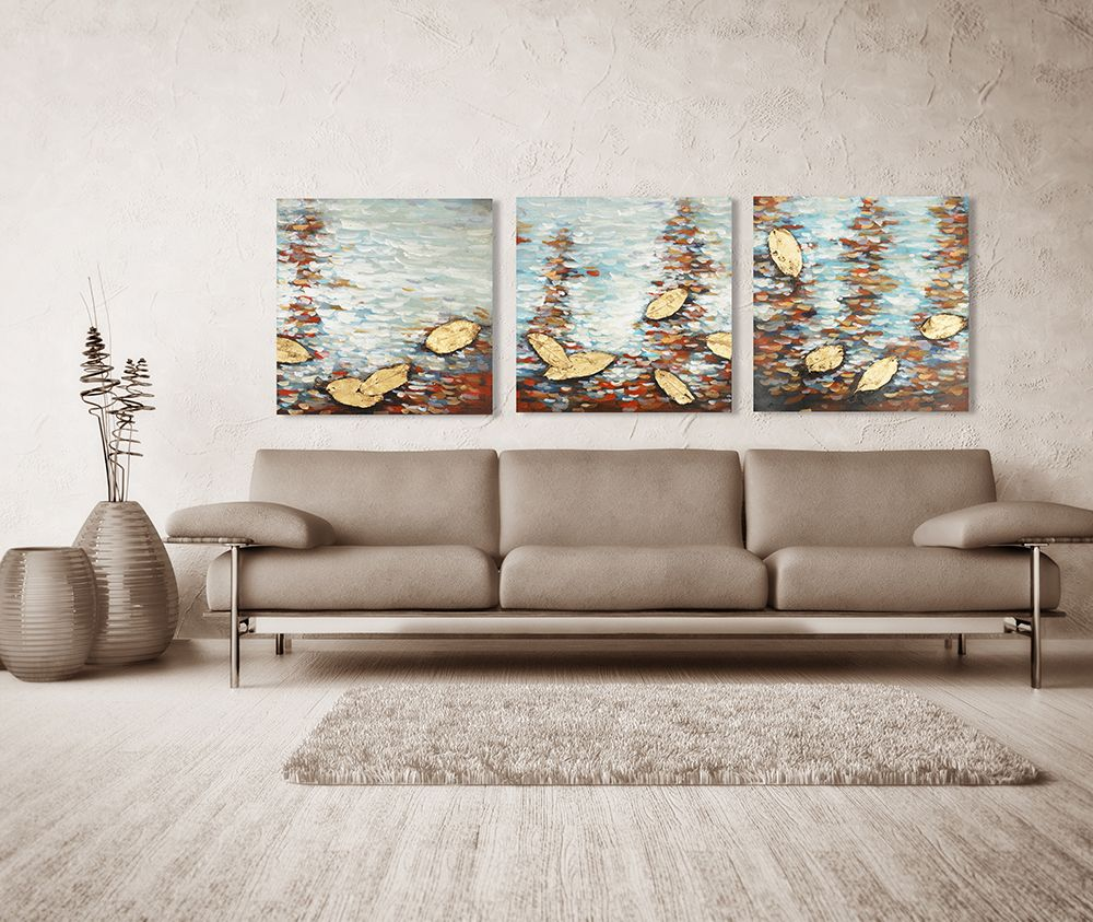 XiangYunChengFeng Abstract Scenery Canvas Oil Painting