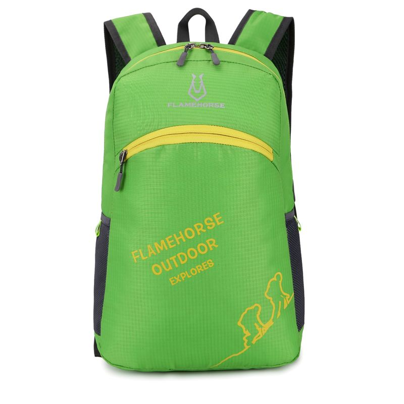 FLAMEHORSE Outdoor Foldbag Luminous Ultra Light Portable Waterproof Backpack