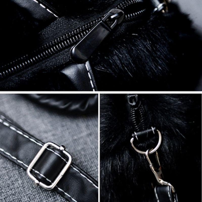Women's Handbag Exquisite Solid Fluffy Charm Bag