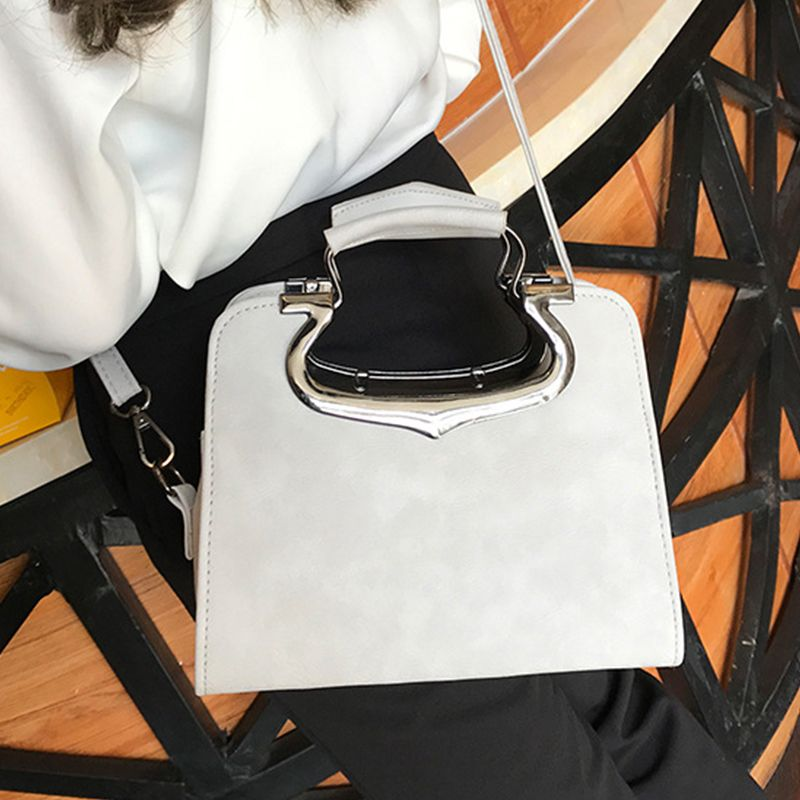 Women's Handbag Fashion Vintage Solid Versatile Casual Bag