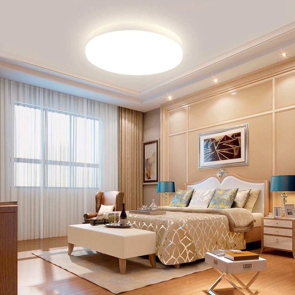 SHANNY 8W Round LED Flush Mount Ceiling Light,Ceiling Lighting Dining Room Lighting Fixtures