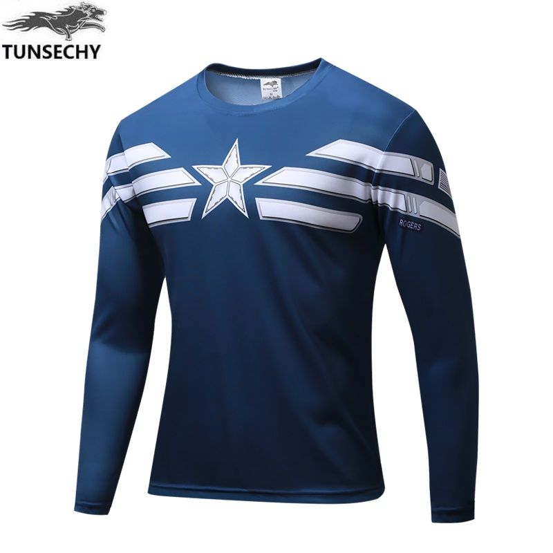 Long Sleeve T-shirt Fashion Menswear