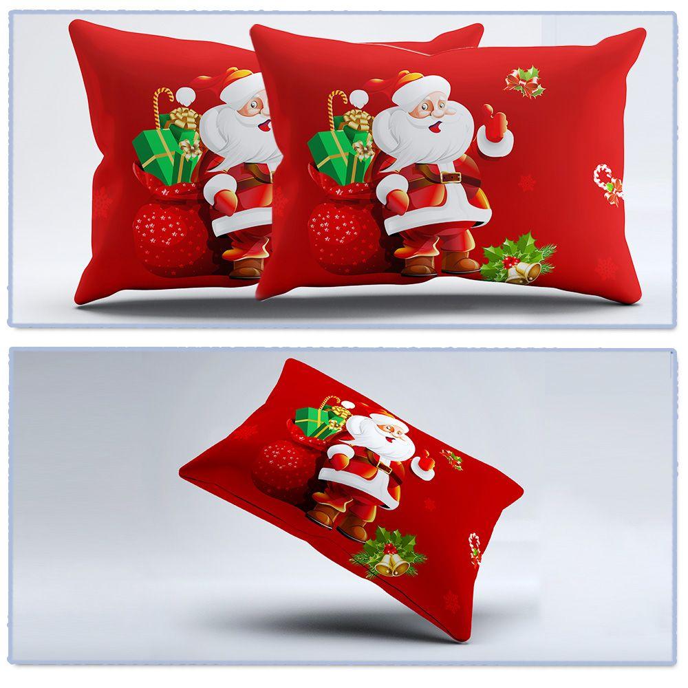 3D Cartoon Bedding Sets Merry Christmas Gift Santa Claus Bedclothes Duvet Quilt Cover Bed Sheet 2 Pillowcases