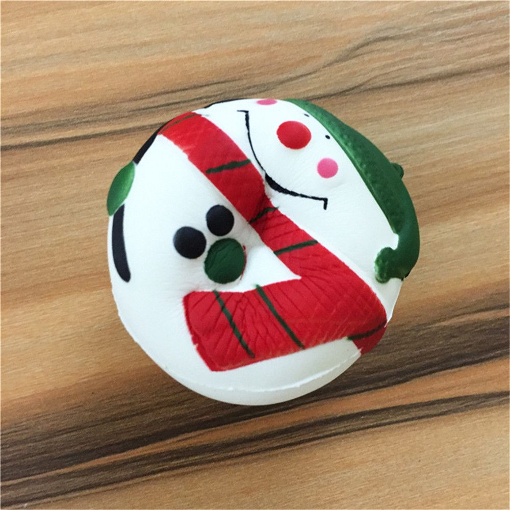 Stress Reliever Snowman Super Slow Rising Kids Toy