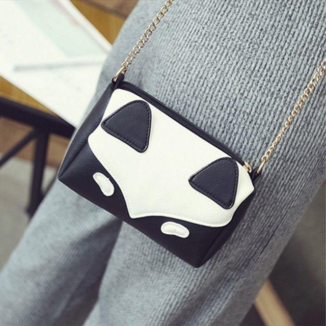 Women's Crossbody Sweet Patchwork Colorblock Zipper Mini Bag