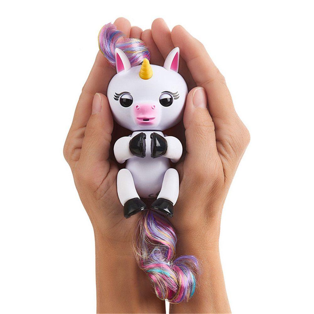 Finger Unicorn Interactive Glitter Toy for Kids