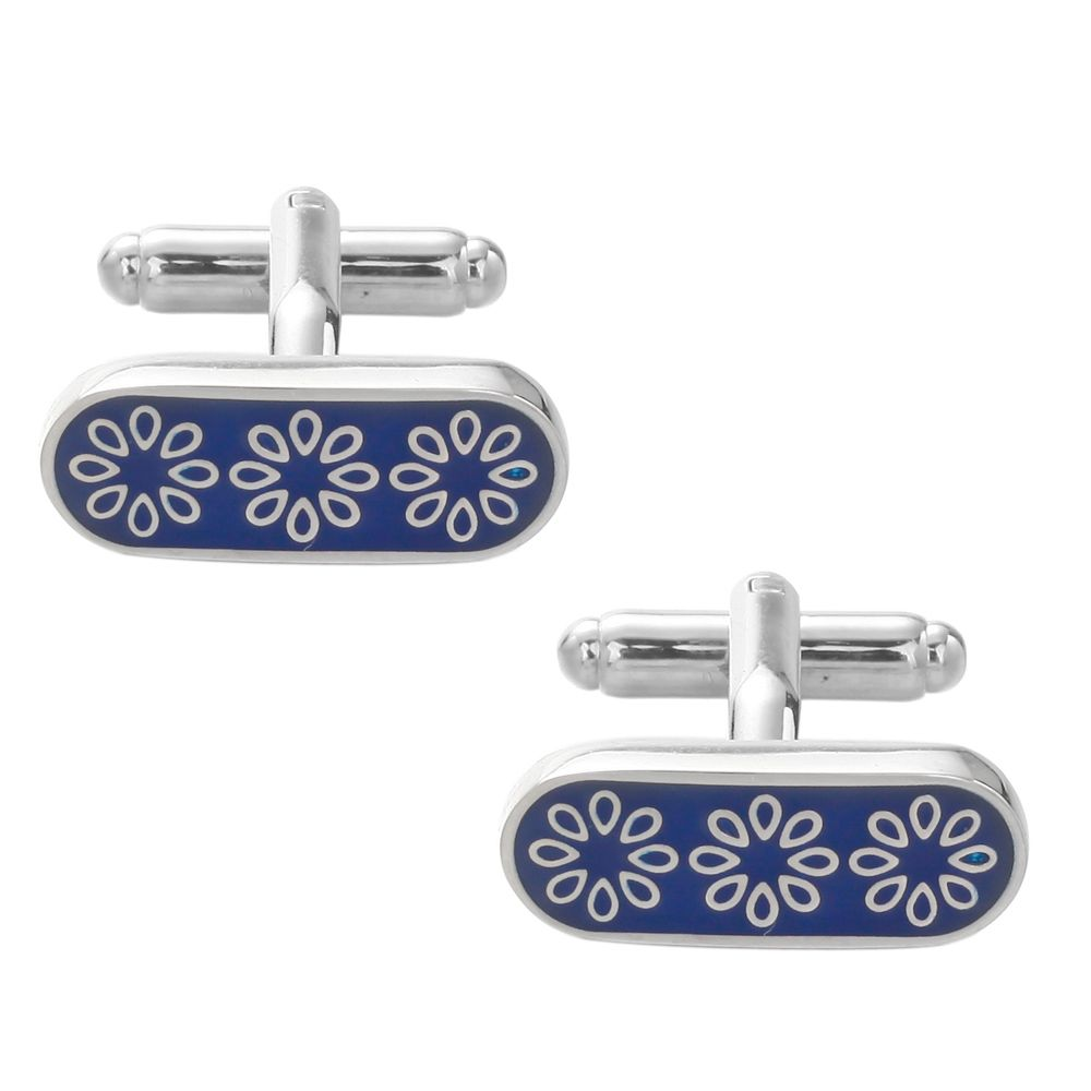 Flower Cuff Links Top Quality Lawyer Groom Wedding Cufflinks Shirt Cuffs