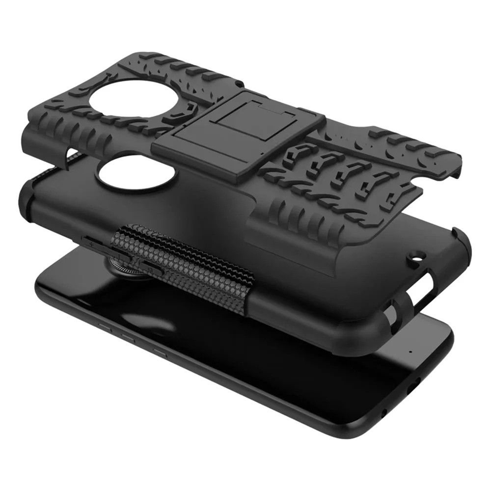 Case For MOTOROLA X4 With Stand Back Cover Armor Hard PC