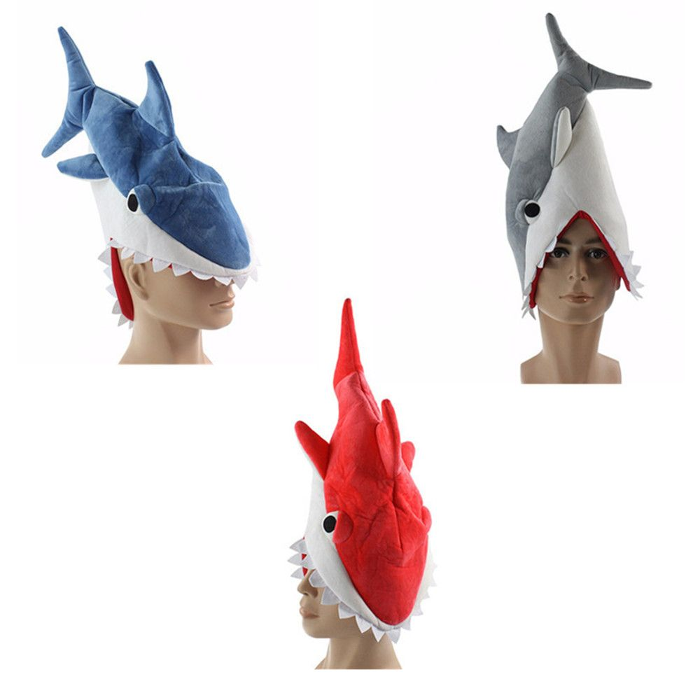 Shark Hat Plush Toy Gift