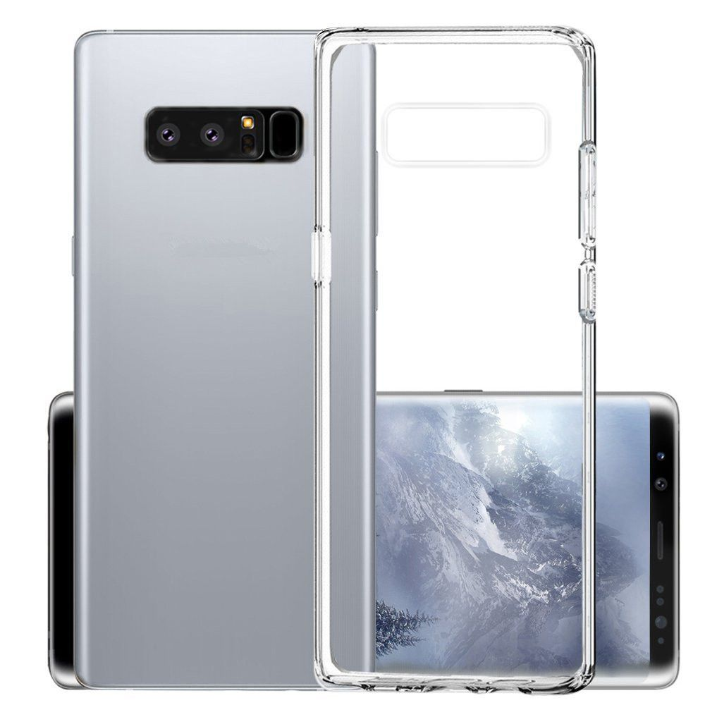 Slim Case Scratch Resistant Phone Tpu Cover for Samsung Galaxy Note 8