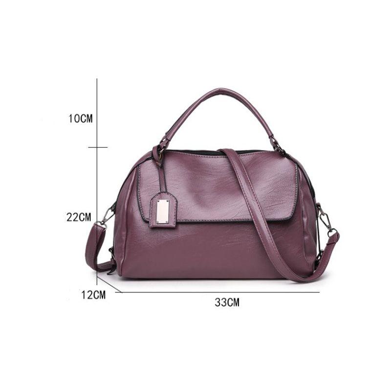 PU Leather Lady Handbag Luxury Designer Shoulder Messenger Bag