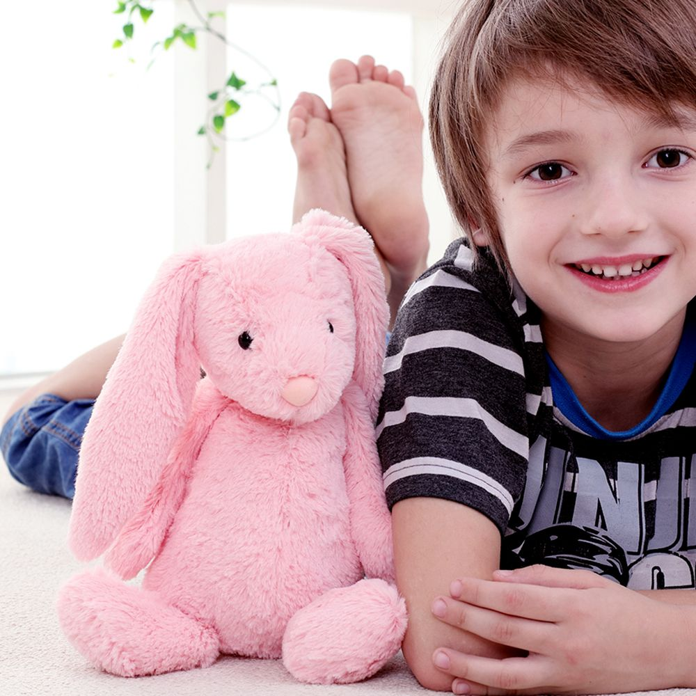 Cute Furry Rabbit Appease Toy Doll