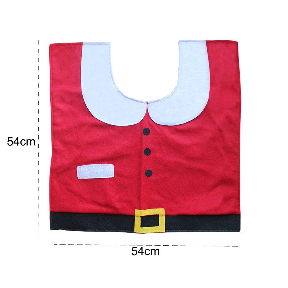 Toilet Covers for Santa Claus Set