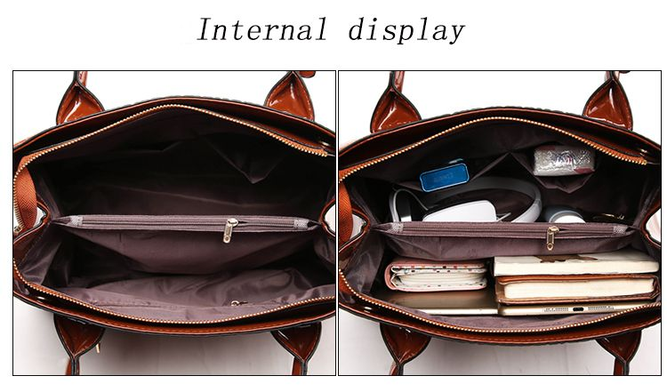 PU Leather Lady Handbag Fashion Style Shoulder Messenger Bag