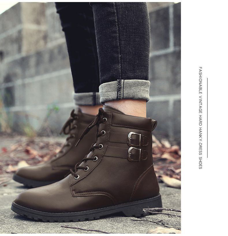 Autumn and Winter Breathable Casual Sports Men's Boots