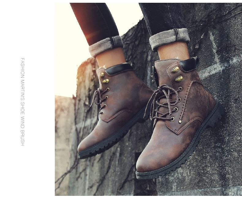Autumn and Winter Fashion Breathable Casual Sports Men'S Boots