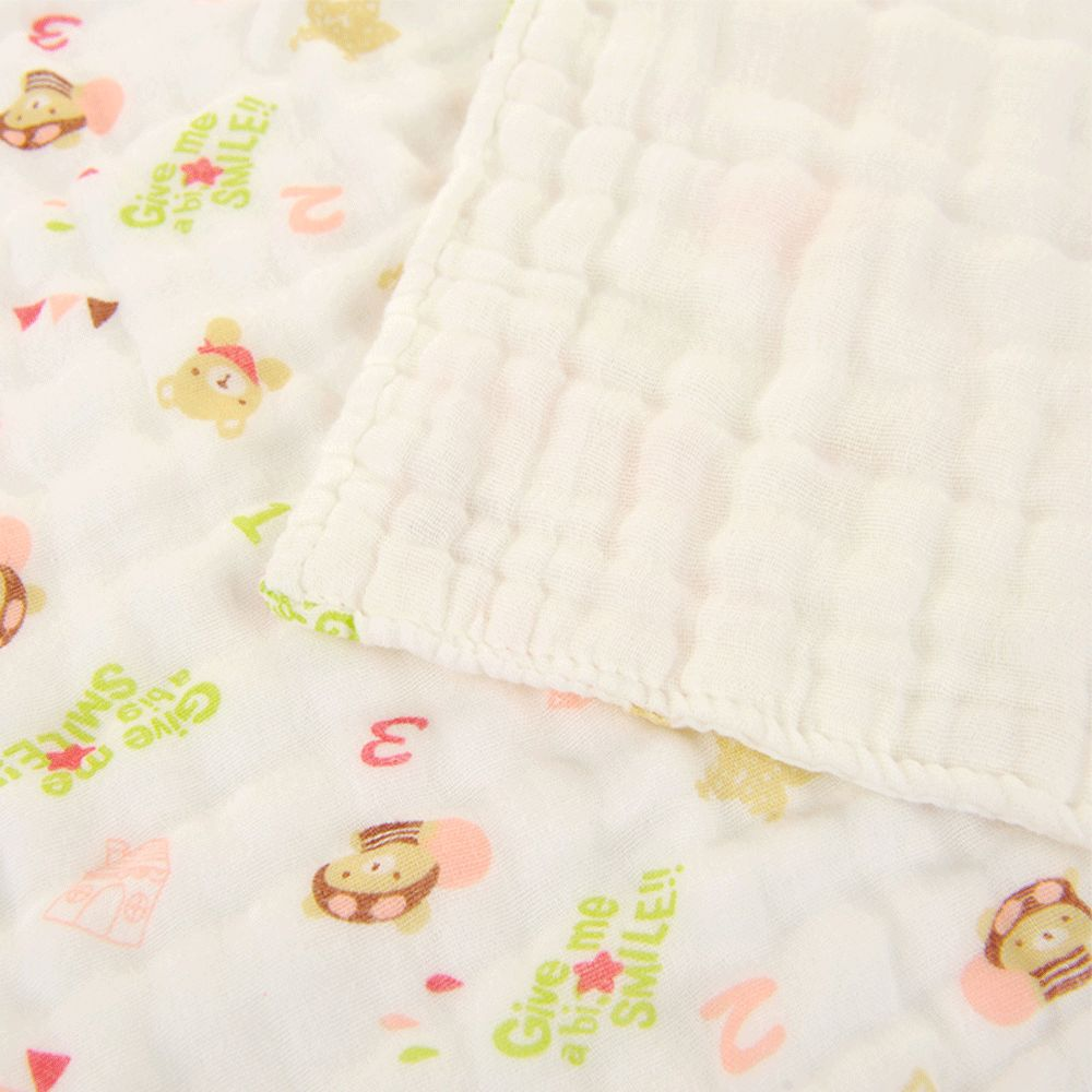 6 Layers Cotton Gauze Towel Baby