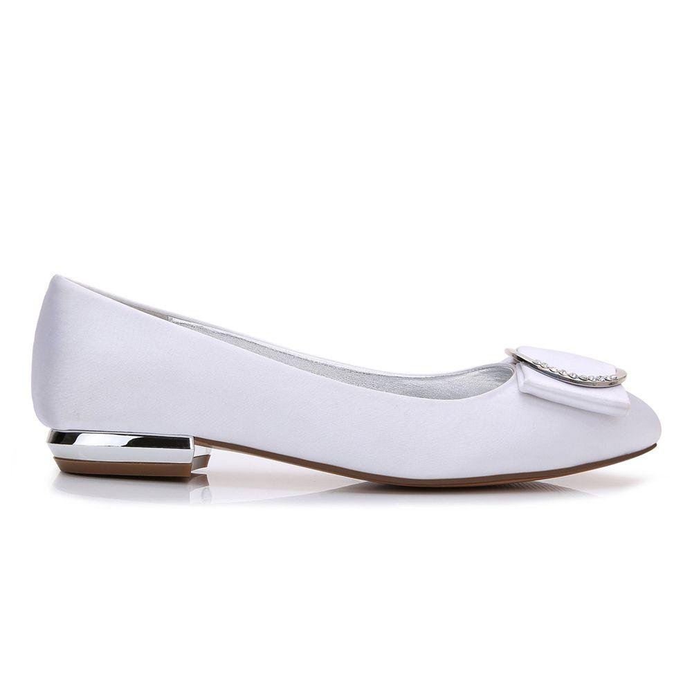 5049-31Women's Shoes Wedding Shoes Flat Heel