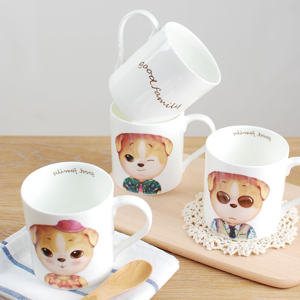 350ML Cartoon Creative Dog Series Cup