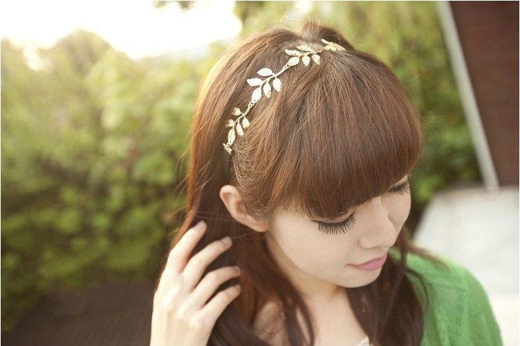 Leaves Decorative Olive Branch Decorative Hair Band Headband