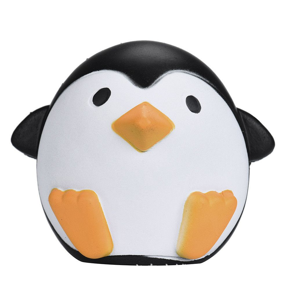 Cute Penguins Squishy Slow Rising Cream Scented Decompression Toy