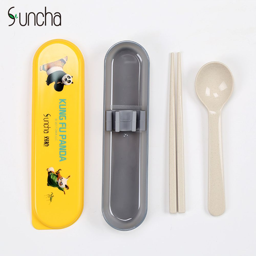 Suncha Portable Student Tableware Set