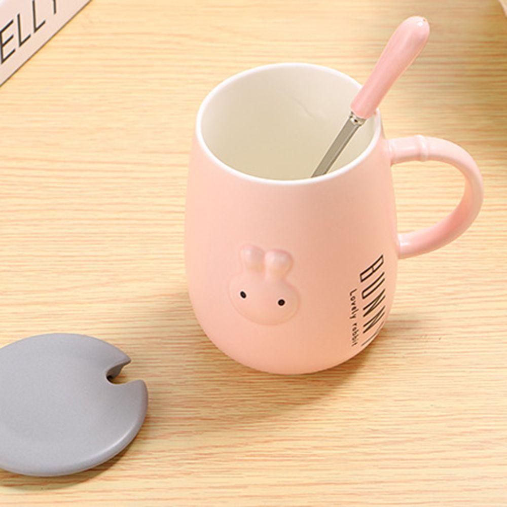 400ML Creative Embossed Cute Rabbit Mug