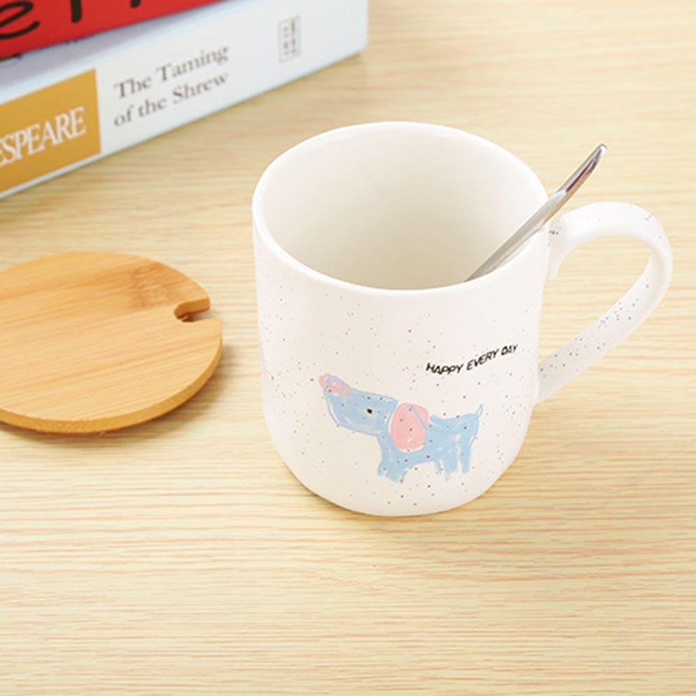 400ML Cartoon Animal Ceramic Mug