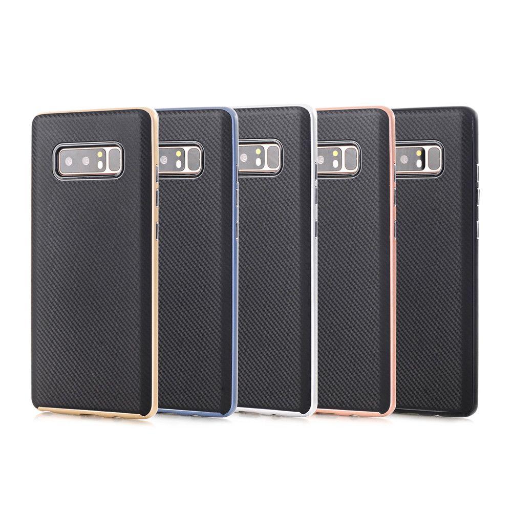 TPU + PC Carbon Fiber Case for Samsung Note 8