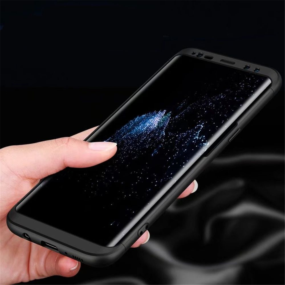3 in 1 Hybrid Hard Plastic Ultra Thin and Slim Anti-scratch Matte Finish Cover Case for Samsung Galaxy S8