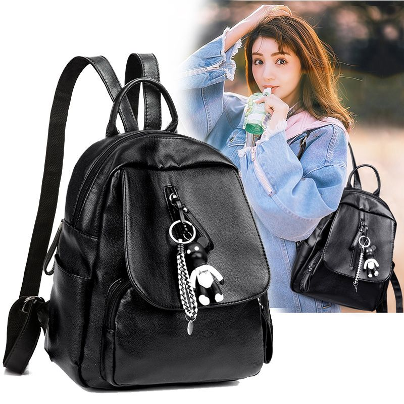 New Ladies / Girls Fashion All Match Bag Backpack with Ornaments