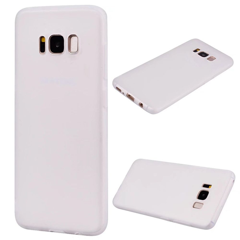 Ultra-thin Back Cover Solid Color Soft TPU Case for Samsung Galaxy S8