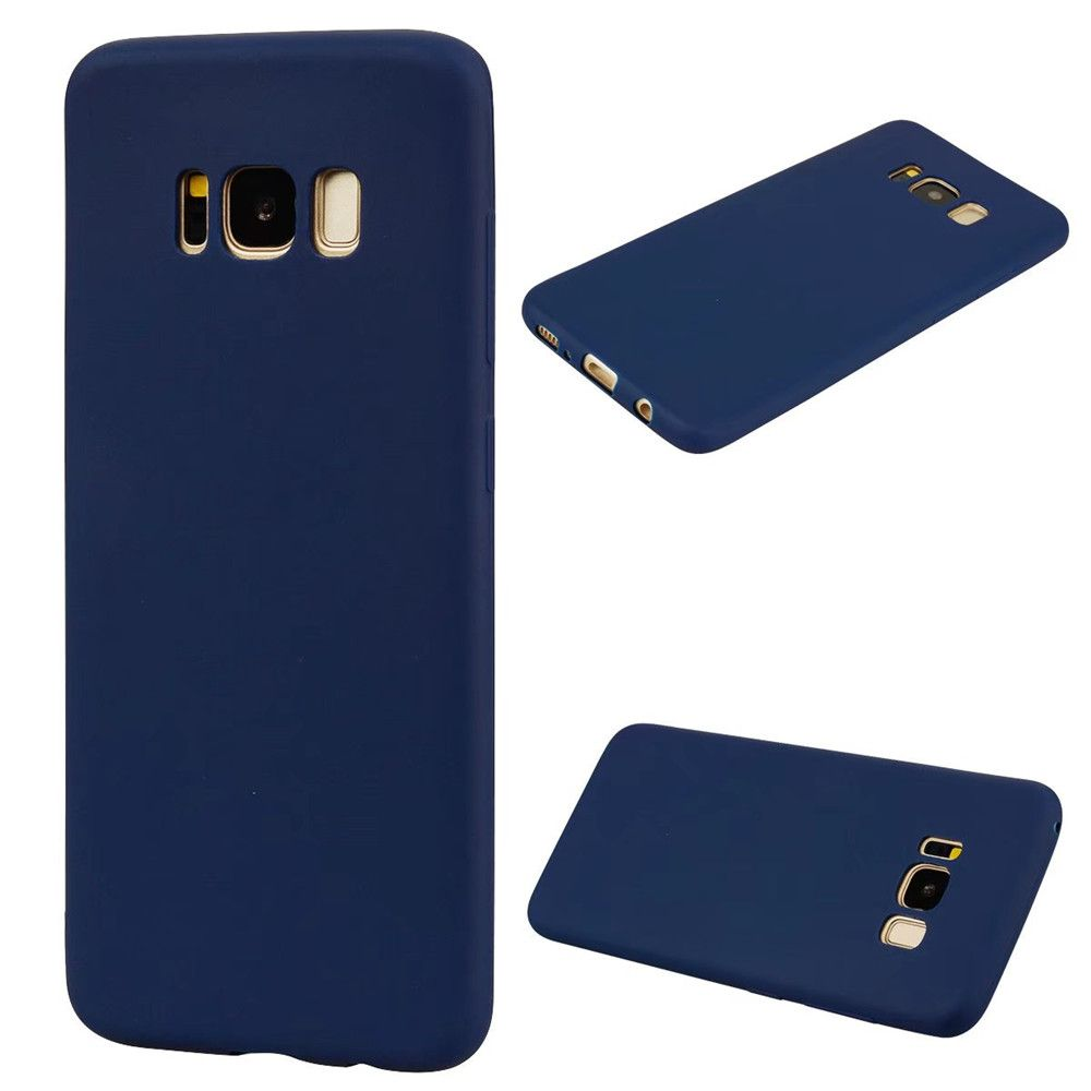 Ultra-thin Back Cover Solid Color Soft TPU Case for Samsung Galaxy S8 Plus