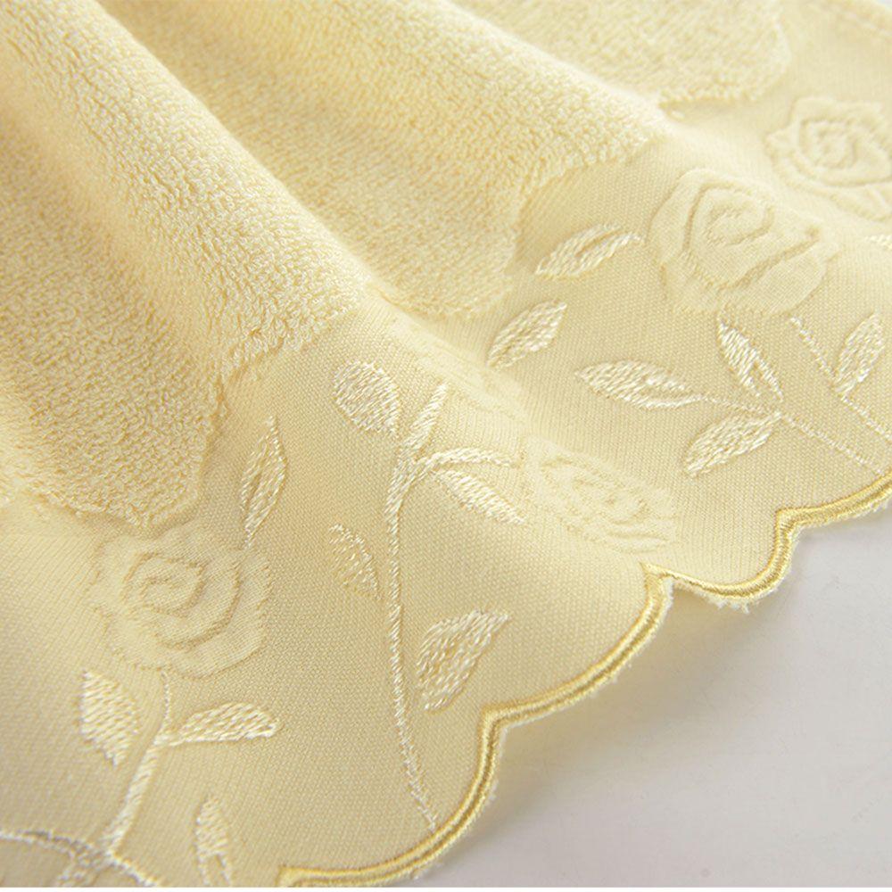 Bamboo Charcoal Fiber Wool Bath Towel Gift Box  Set