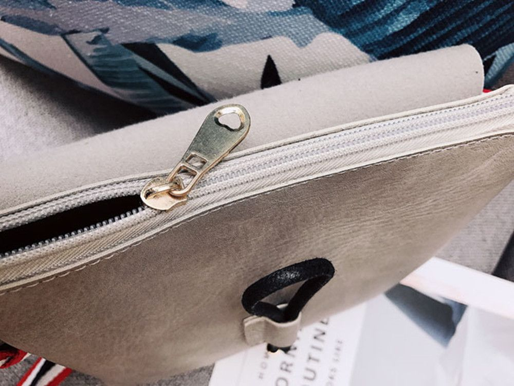 Bag Female 2017 New Style Wild Messenger Shoulder Small Square Bag