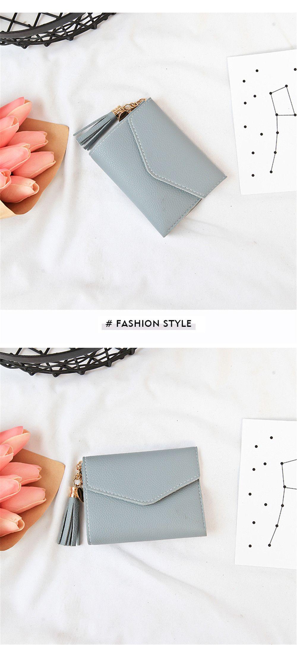 New Fringed Multi-card Purse Short Paragraph Mini Handbag Wallet